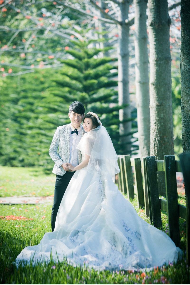 婚紗套價位作品