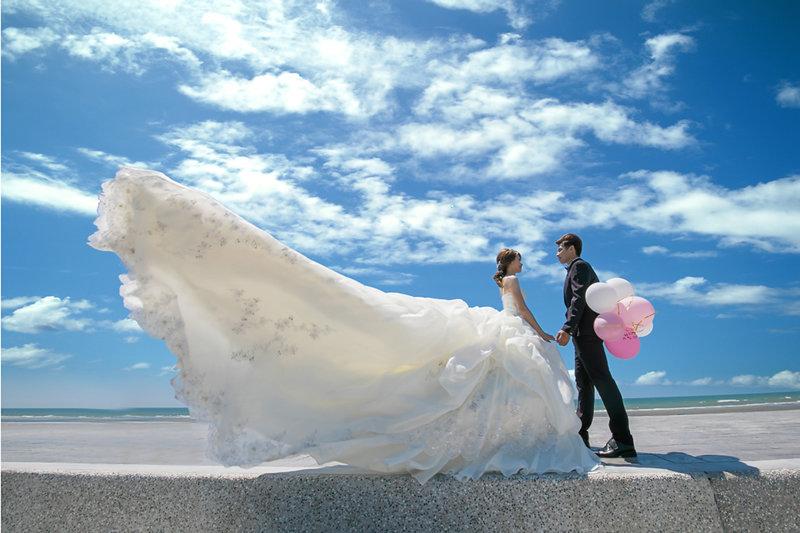 單拍婚紗寫真系列一作品