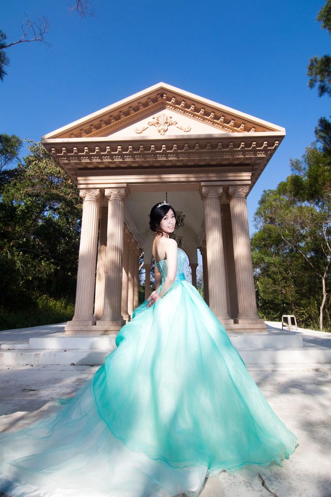 單拍婚紗寫真系列二作品
