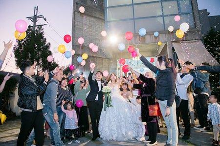 健恭&韻如 結婚 迎娶 證婚戶外婚禮 晚宴