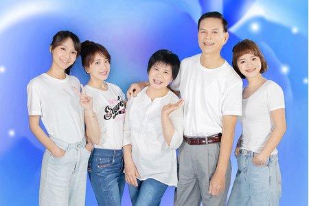 全家福拍攝 特惠價限時專案小家庭6人以內
