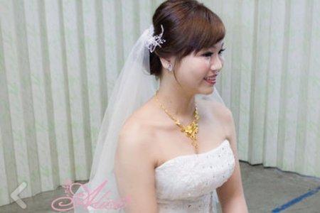 淑慈 南投單妝短髮新娘雙儀式