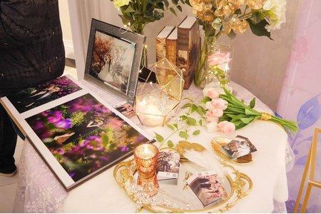 夢中婚禮相片桌