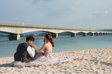 沖繩海外婚紗作品