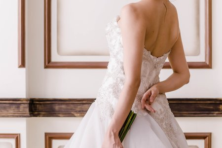 歐式白紗禮服