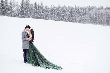 北海道浪漫婚紗