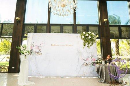 大型背板-婚禮佈置