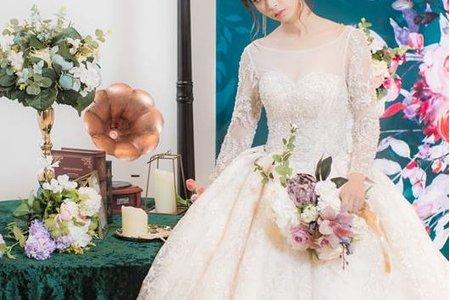 麋鹿小姐婚禮佈置-新竹店開幕-
