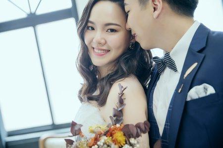 韓風棚拍婚紗照