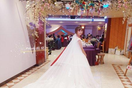 *杏娟*短髮新娘作品