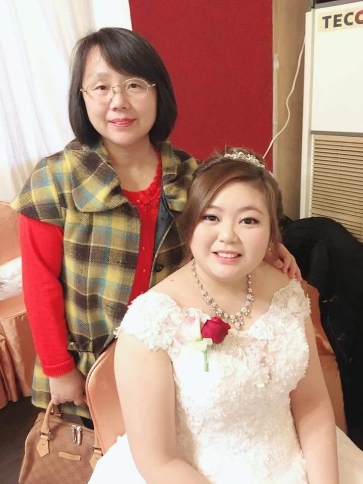 幸福小女人造型工作室*中和新秘小妮,專業細心的妮妮婚秘