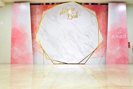 雙層水粉背板