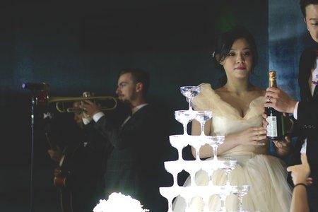 天賜良緣婚宴會館新莊館婚禮樂團三重奏