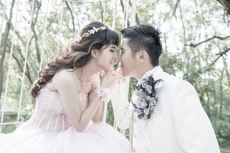 浪漫夏季婚紗-婚紗照