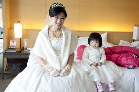 逸楨結婚婚禮記錄清新溫泉渡假酒店