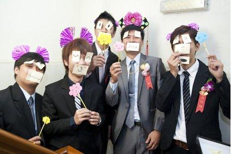 育秀結婚婚禮記錄__2-迎娶闖關活動