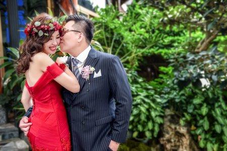 故事影像 | 南投樂涼園藝餐廳 | 結婚之囍