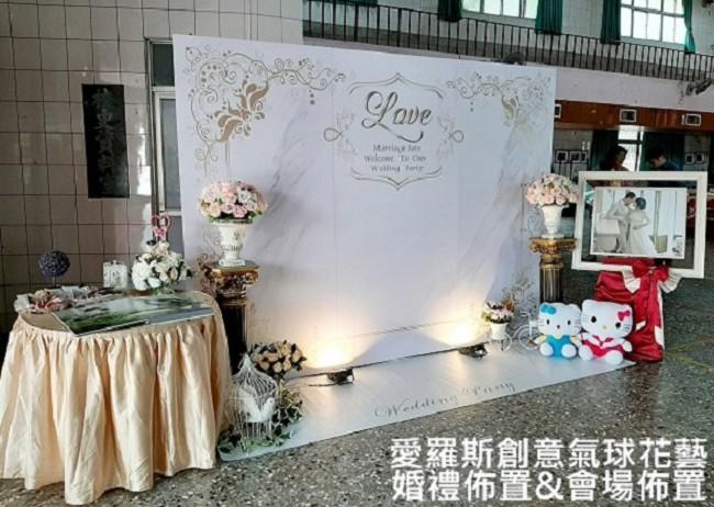 8999背板婚禮佈置方案共~24款作品
