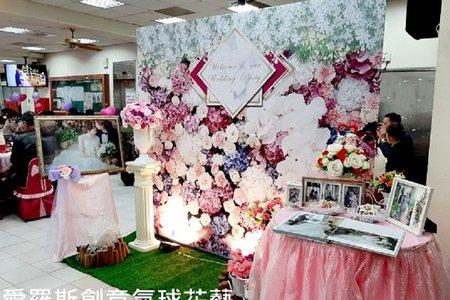 花團錦簇-玫瑰花牆風