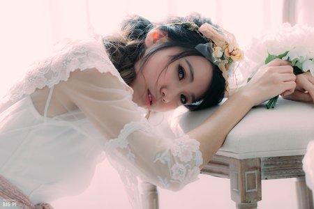婚紗作品-古董婚紗