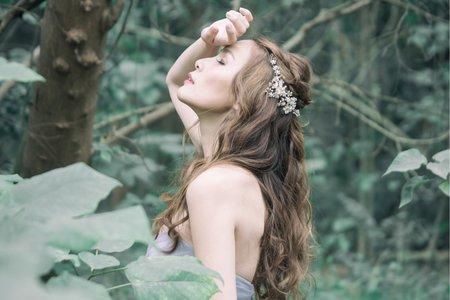 婚紗作品-森林精靈