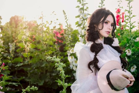 婚紗作品-復古柔美