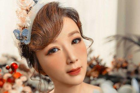 婚紗作品-復古洋娃娃