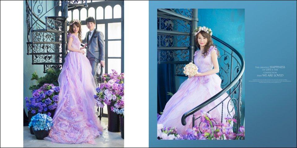 華納婚紗-台中婚紗,華納水晶和雲裳婚紗的小迷妹