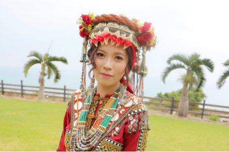 排灣族婚禮造型