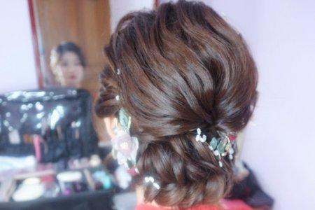 婚宴造型/低盤髮