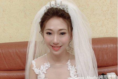 白紗造型🎀高盤髮