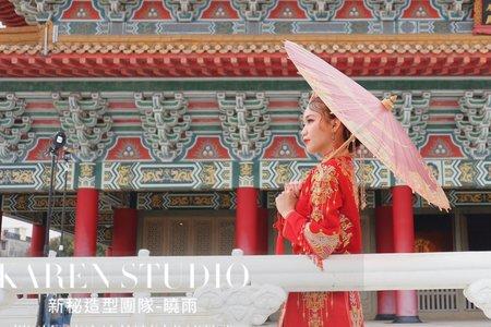 中式秀和服造型