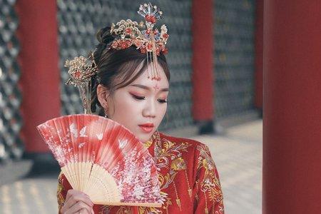 古典中式秀和服造型