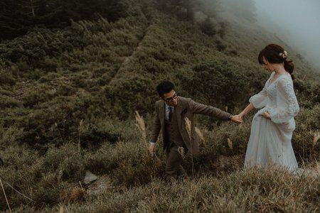 [Pre-wedding | 美式高山婚紗] David&Angie