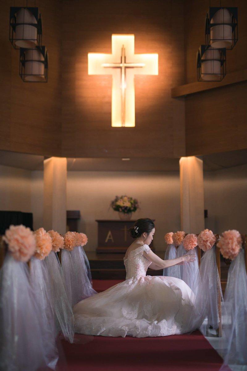 小清新婚禮的攝錄方案(單機版)作品