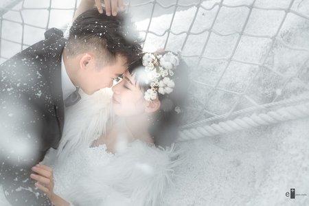 自助婚紗|雪地婚紗|eplus婚禮攝影