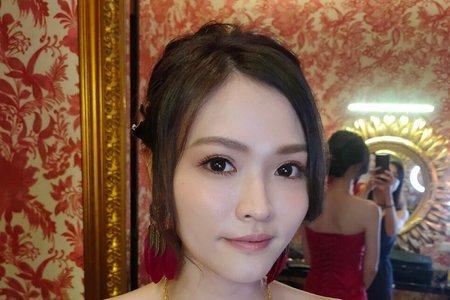 文定造型--倩。彩妝世界 Crazy about makeup文定儀式