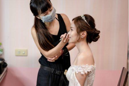 白紗造型--倩。彩妝世界 Crazy about makeup