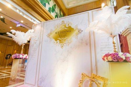 台中僑園飯店婚禮佈置