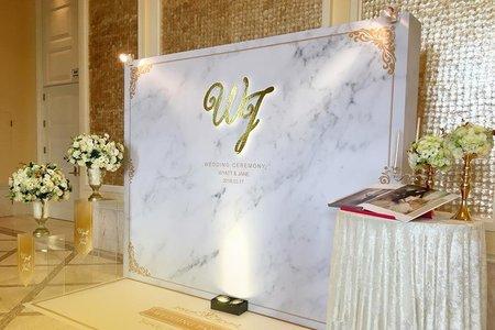 林酒店全球聽婚禮佈置