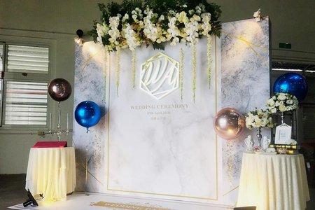 2018.04.07台東糖廠婚宴佈置