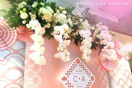 2018.05.05台東享溫馨婚禮佈置