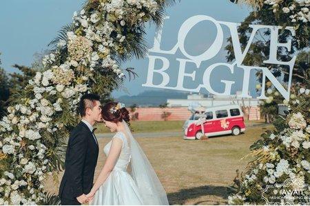 草地婚禮戶外證婚