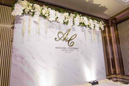 台北寬和婚宴會館-白金大理石