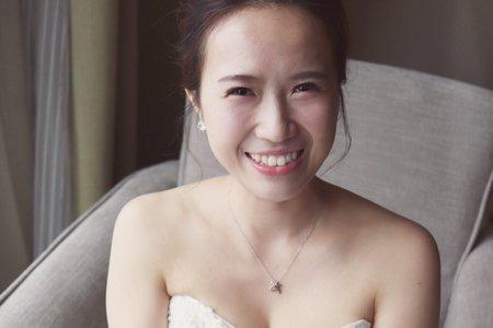 歐美簡約風格造型-新娘
