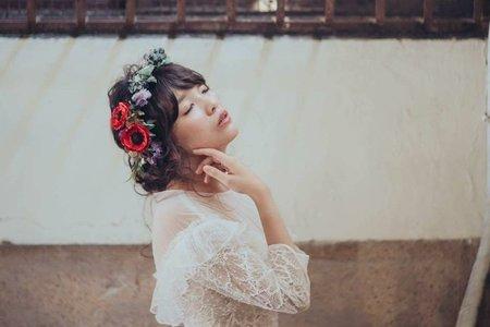 給喜歡花*頭飾的妳