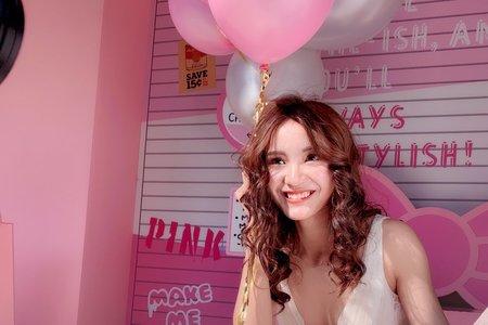 Little A Love Makeup x 暖冬裡的粉紅泡泡
