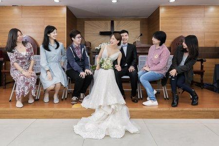 台北_教會證婚_自然清新