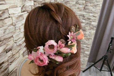 甜蜜的韓式編髮