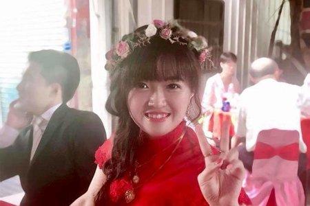 韓風甜美新娘造型